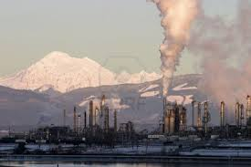 Washington state oil refinery